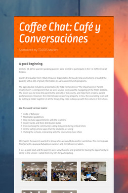 Coffee Chat:  Café y Conversaciónes