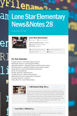 Lone Star Elementary News&Notes 28