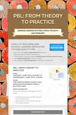 PBL: From Theory to Practice
