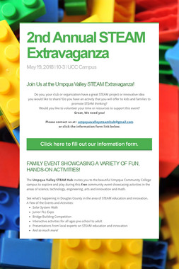 2nd Annual STEAM Extravaganza