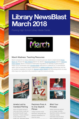 Library NewsBlast March  2018
