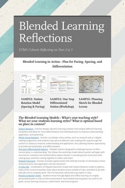 Blended Learning Reflections