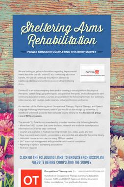 Sheltering Arms Rehabilitation