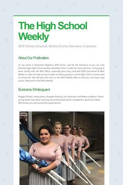 The High School Weekly