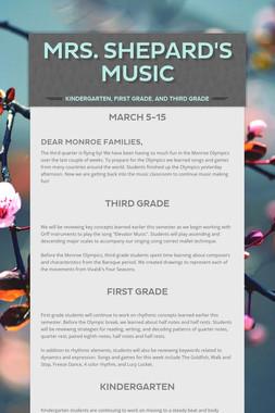 Mrs. Shepard's Music