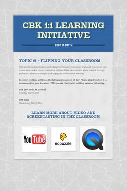 CBK 1:1 Learning Initiative