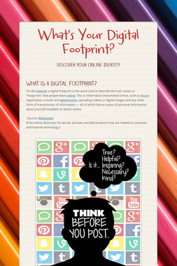 What's Your Digital Footprint?