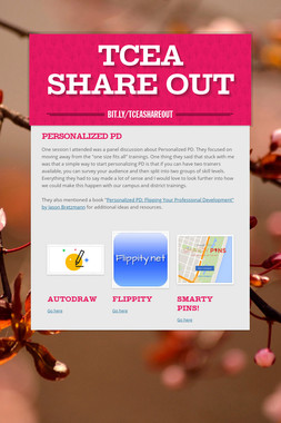 TCEA Share Out