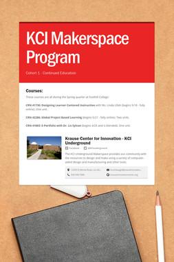KCI Makerspace Program