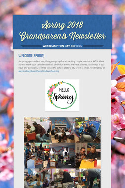 Spring 2018 Grandparents Newsletter