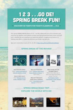 1 2 3 . . .Go DE! Spring Break Fun!