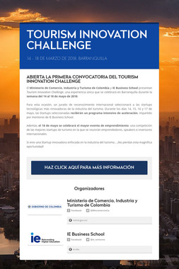TOURISM INNOVATION CHALLENGE