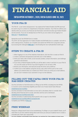 FAFSA Completion Guide