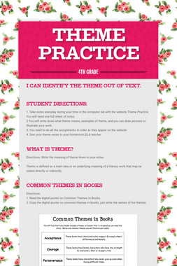 Theme Practice
