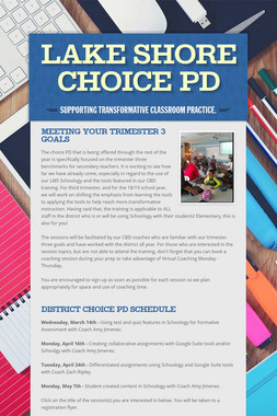 Lake Shore Choice PD