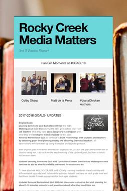 Rocky Creek Media Matters