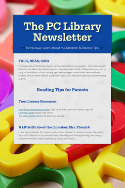 The PC Library Newsletter