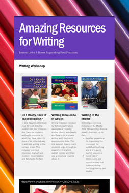 Amazing Resources for Writing