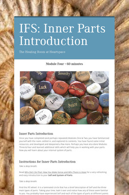 IFS: Inner Parts Introduction