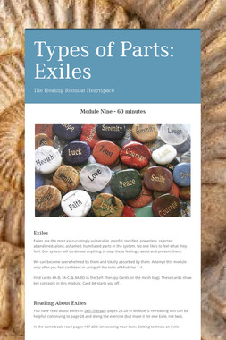 Types of Parts: Exiles