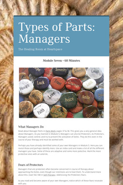 Types of Parts: Managers