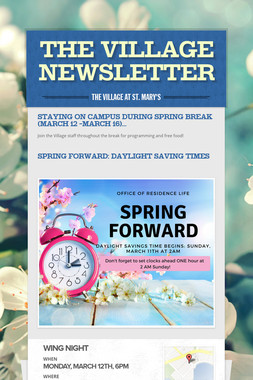 The Village Newsletter