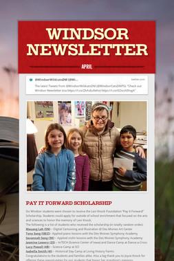 Windsor Newsletter