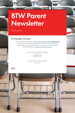 BTW Parent Newsletter