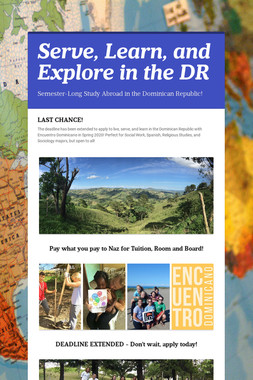 Serve, Learn, and Explore in the DR