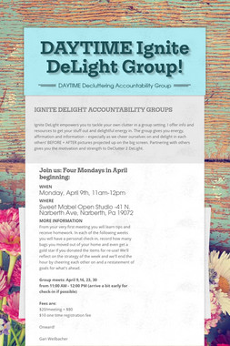 DAYTIME Ignite DeLight Group!
