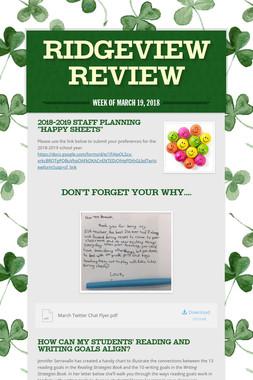 Ridgeview Review