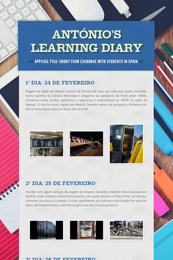 António's Learning Diary