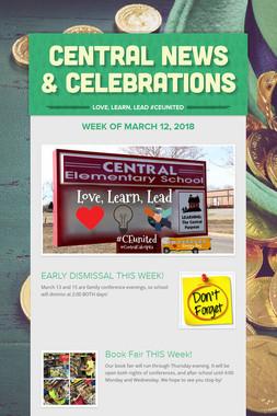 Central News & Celebrations