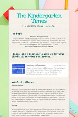 The Kindergarten Times