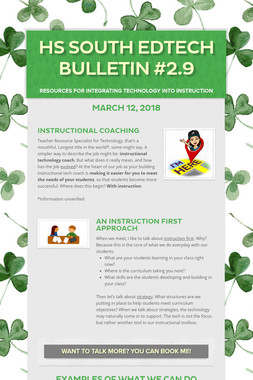 HS South EdTech Bulletin #2.9