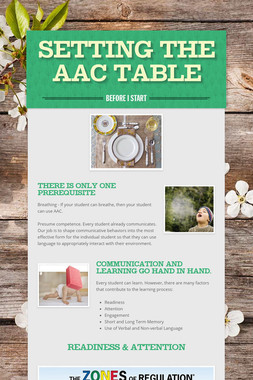 Setting the AAC Table