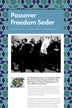 Passover Freedom Seder