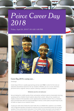 Peirce Career Day 2018