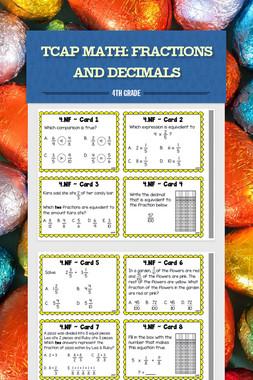 TCAP Math: Fractions and Decimals