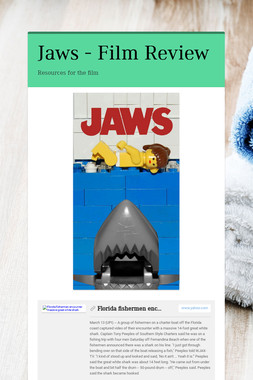 Jaws - Film Review