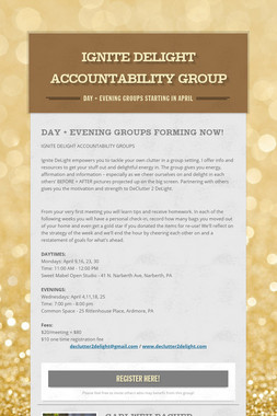 Ignite DeLight Accountability Group