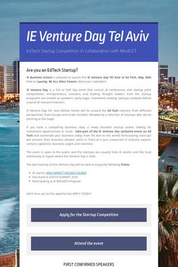 IE Venture Day Tel Aviv