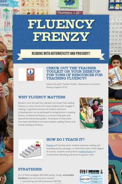 Fluency Frenzy