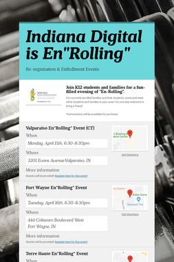 "Indiana Digital is En""Rolling"""