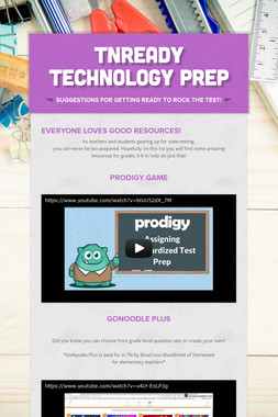 TNReady Technology Prep