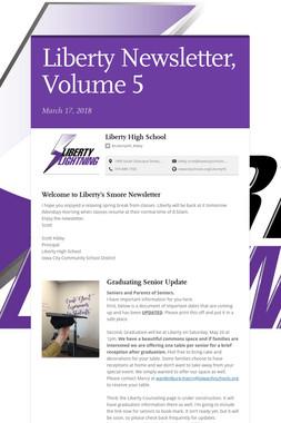 Liberty Newsletter, Volume 5