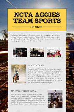 NCTA Aggies Team Sports