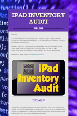 iPad Inventory Audit