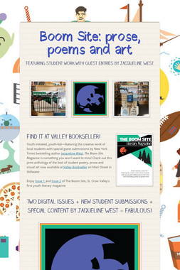 Boom Site: prose, poems and art