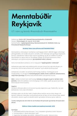Menntabúðir Reykjavík